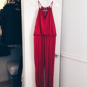 Red Jumpsuit 💋 ON SALE